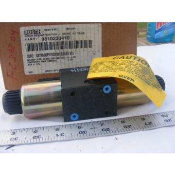 Bosch 081WV06P1V1020WC024/00 E51 Hydraulic Valve NIB