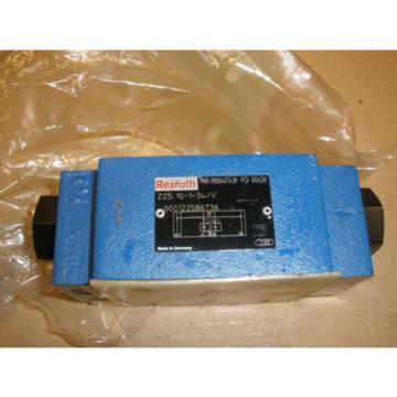 Rexroth Hydraulic Valve MNR R900 407439 FD 00630 Z2510-1-34/V