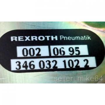 REXROTH 346 032 102 2, SOLENOID VALVE, 1/4#034; NPT, 5 PIN MALE PLUG, NIB