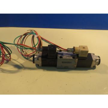 REXROTH HYDRAULIC DIRECTIONAL SOLENOID VALVE 4WE6D51/0FAW120-60N9Z45