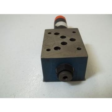 REXROTH ZDR10DP2-53/75YM HYDRAULIC VALVE USED