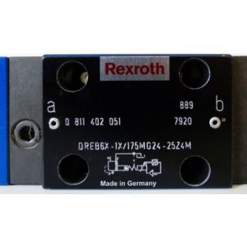 Rexroth DREB6X-1X/175MG24-25Z4M 0811402051 Valve + Zubhör -unused-