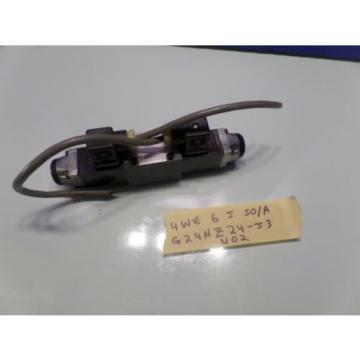 REXROTH HYDRAULIC DIRECTIONAL VALVE 4WE6J50/A G24NZ24-J3 U02