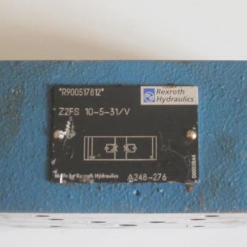 REXROTH THROTTLE CHECK VALVE Z2FS 10-5-31 / V R9000517812