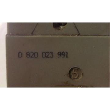 BOSCH REXROTH PNEUMATIC SOLENOID VALVE 0 820 023 991 kjs