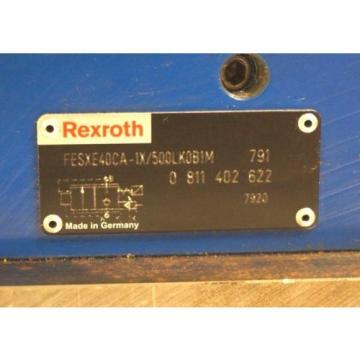 Origin REXROTH FESXE40CA-1X/500LK0B1M SERVO VALVE 0-811-402-622, 0811402622