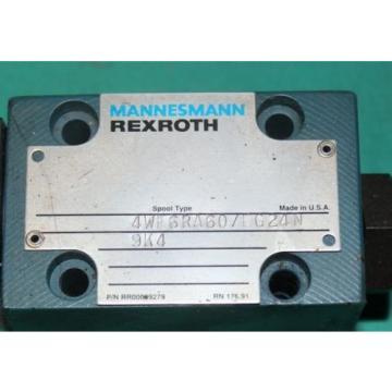 Rexroth, 4WE6RA607EG24N, 9K4, Solenoid Valve Origin