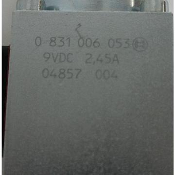 NIB BOSCH REXROTH 0 811 402 030 PROPORTIONAL VALVE W/ 0811405145 AMP MODULE