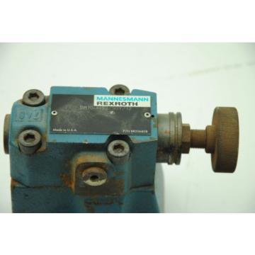 MANNESMANN REXROTH DR10-4-52/50Y/12 #RR006808 Hydraulic Servo Directional Valve