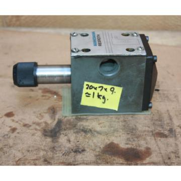 MANNESMANN REXROTH 4WE 10 D31CW110N9Z4 Direct operated directional spool valve