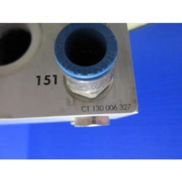 REXROTH VALVE UNIT CT 130 006 327 S702-4006 CT130006327 SET OF 7 CHARMILLES 510