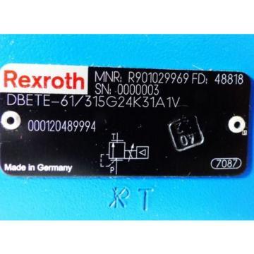 Rexroth DBETE-61/315G24K31A1V R901029969 Valve -unused-