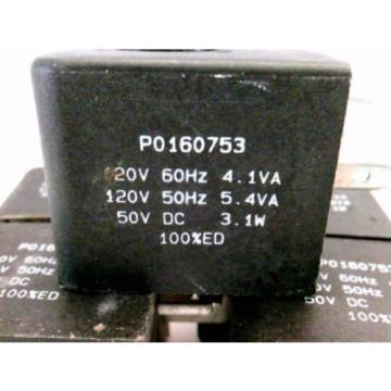 Rexroth W5140  PO160753 Solenoid Valve Coil Lot of 5