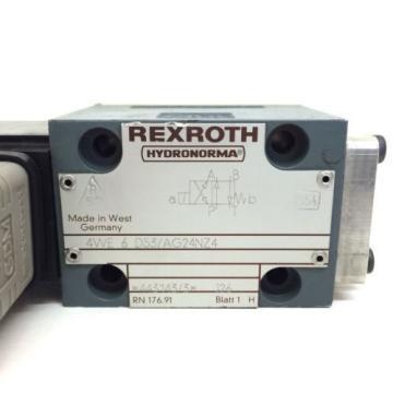 Directional Control Valve 4WE6D53/AG24NZ4 Rexroth 4WE-6-D-53/A-G24-N-Z4 origin
