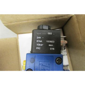 Rexroth PW-067697-00005 Air Valve Type 740 24VDC