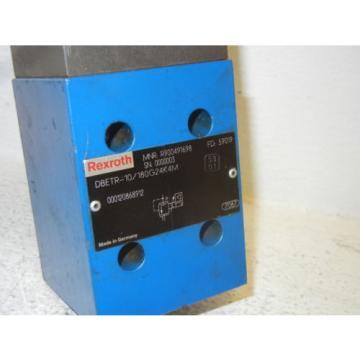 REXROTH DBETR-10/180G24K4M USED HYDRAULIC VALVE R900491698 DBETR10180G24K4M