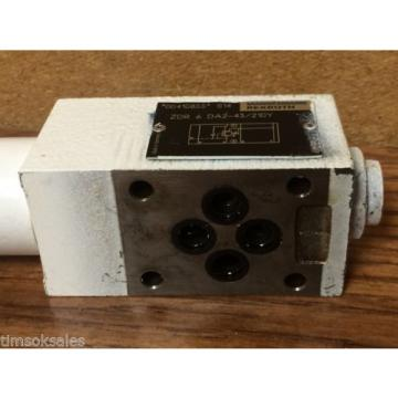 Mannesmann Rexroth ZDR 6 DA2-43/210Y Pressure Valve, Used WorkIng