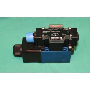 Rexroth 3WE6A62/EW110N9DK25L/62 Hydraulic Control Valve MNR R978021085 Origin