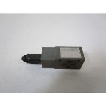REXROTH HYDRUALIC VALVE ZDB-6 VA2-42/50 USED