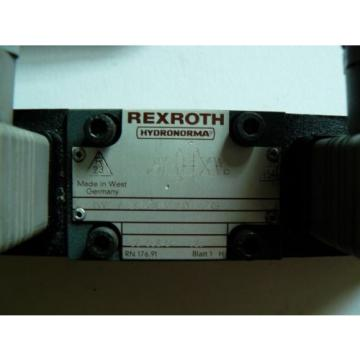 Rexroth 4WE6J51/AG24NZ4V Control Valve Wired