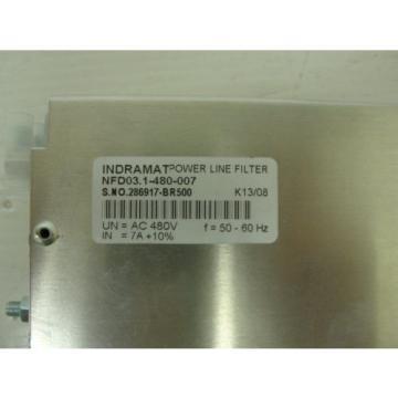 origin Rexroth NFD031-480-007  Power Line Filter