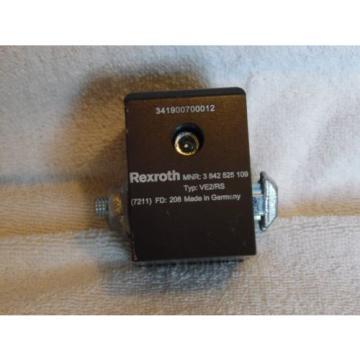Rexroth Pneumatic Dampened Stop Gate MNR 3 842 525 109