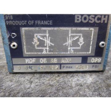 Origin BOSCH CHECK VALVE MDF-06-AB-ADM 9810161168