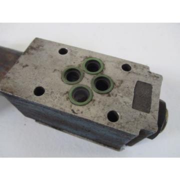 REXROTH ZDR 6 DP1-43/75YM/12V PRESSURE REDUCING VALVE USED