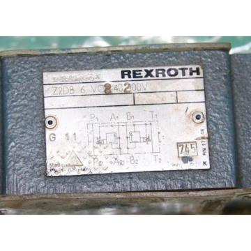 Rexroth Z2DB6VC2-4X/200V Hydraulic Valve Z2DB6VC24X200V Origin