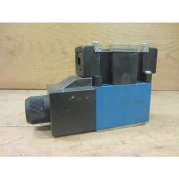 Mannesmann Rexroth 4WE6EA6X/EW110N9DAL Hydraulic Directional Valve Used CSQ