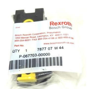 Origin BOSCH REXROTH P-067703-00000 VALVE BODY MANIFOLD 7877 07 W 44