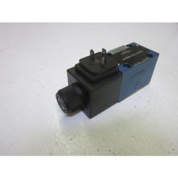 REXROTH 4WE6D60/EW110N9K4 DIRECTIONAL CONTROL VALVE AS PICTURED USED