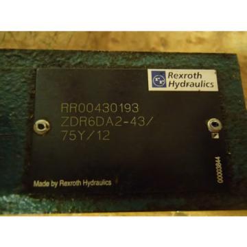 Rexroth Directional Valve ZDR6DA2-43/75Y/12 _ ZDR6DA24375Y12_ZDR-6DA2-43/75Y/12