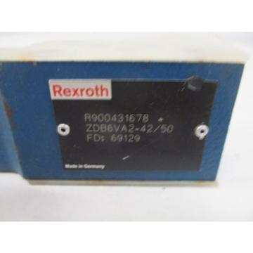 REXROTH ZDB6VA2-42/50 DIRECTIONAL CONTROL VALVE Origin NO BOX