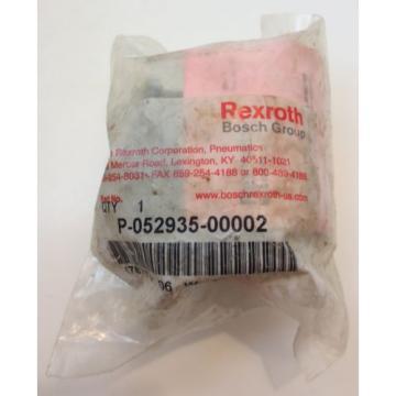 Rexroth Aluminum 1/4#034; In-Line Piping Quick Exhaust Valve P-052935-00002 origin