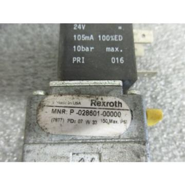 Origin Bosch Rexroth 5 Port Directional Valve