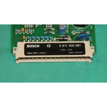 Rexroth, 0 811 405 081, 1M45-08A, Bosch Hydraulic Valve Servo Proportional Ampl