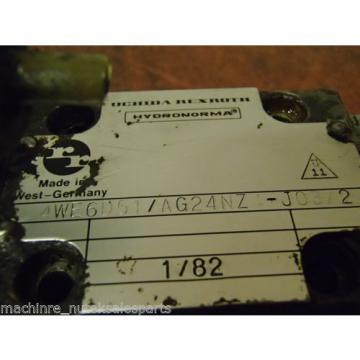 Uchida Rexroth Hydronorma Solenoid Valve 4WE6D51/AG24NZ4-J03/2 4WE6D51AG24NZ4J03