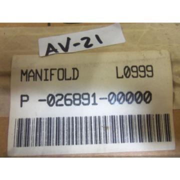 REXROTH P-026891-00000 MANIFOLD Origin IN BOX