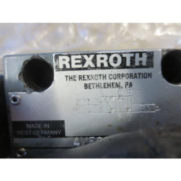 HES T-NUM 200 CNC LATHE REXROTH 4WE6D51/0FAW120 PNEUMATIC HYDRAULIC VALVE