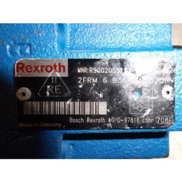 REXROTH 2FRM-6 B36-33/320RV  2 WAY FLOW VALVE,  NO KEY LOT OF 2 USED