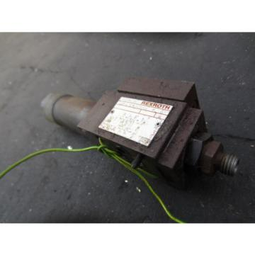 REXROTH ZDR-6 DP1-41/75YM REGULATOR VALVE ZDR6DP14175YM  INDEX V200 CNC
