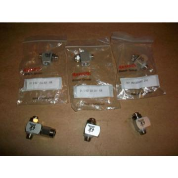 6pc Rexroth Flow Control Valve 001 8021200201  202