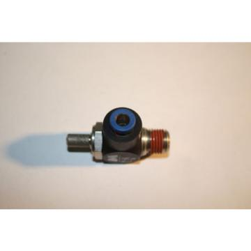 REXROTH  R432027194  FLOW CONTROL RIGHT ANGLE 1/4#034; NPT 1/4#034; OD  TUBE  Origin NO BAG