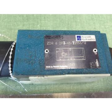 REXROTH ZDR-6-DP3-43/75YM/12 DIRECT ACTUATED PRESSURE VALVE ZDR-6-DP3-43/75YMV12