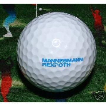 LOGO GOLF BALL~Mannesmann Rexroth Co Hydraulics/Valves/Steel~Vodafone/Bosch=90