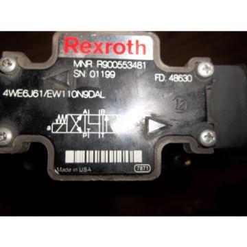 REXROTH 4WEH22J76/6EW110NEDAL 4WE6J61/EW110N9DAL DIRECTIONAL VALVE LL2