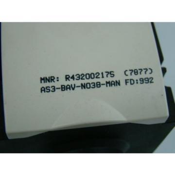 Rexroth 3/8 NPTF Pneumatic Lockout Valve R432002175