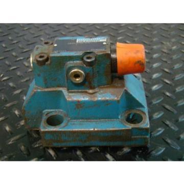 Mannesmann Rexroth Hydraulic Servo Directional Valve DB30-2-52 /315U/12 RR006808