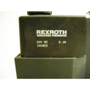 TM-2277, REXROTH GT-010032-00909 PNEUMATIC CERAM VALVE